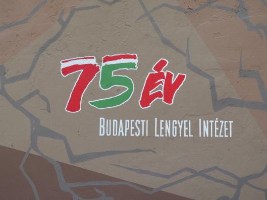 mural przyjaźni polsko-węgierskiej ulica Klauzála, Budapeszt