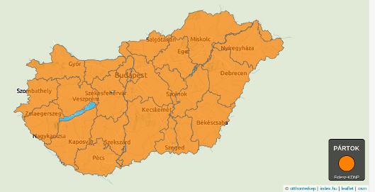 wybory samorządowe na Węgrzech październik 2014